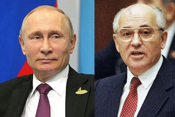 Горбачев сообщил о письмах к Путину и Макрону