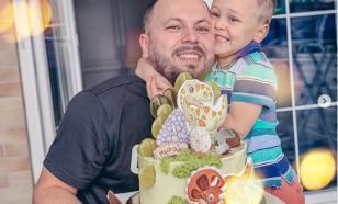 Похоронивший жену Сумишевский поздравил сына с четырёхлетием