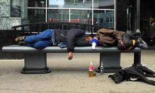 В Латвии бездомных будут кормить просроченной едой