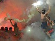 Ультрас подожгли здание Федерации футбола Украины в Киеве