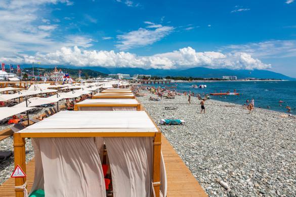"""Пляж курорта """"Роза Хутор"""" отмечен Голубым флагом FEE"""