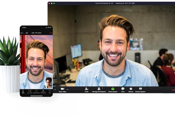 Пользователь Zoom создал своего двойника