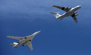 Минобороны опубликовало видео дозаправки Ту-160 на скорости 600 км/ч