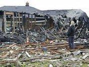Мощный взрыв снёс три жилых дома в США