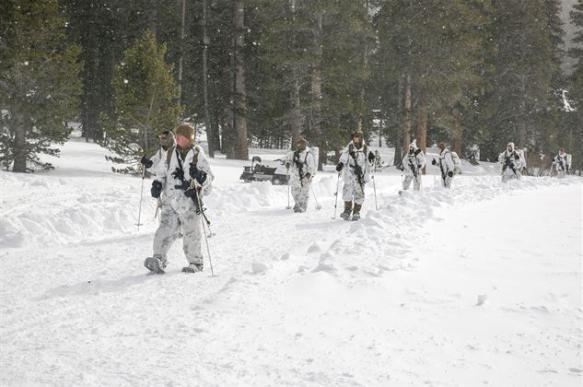 Словенцы пожаловались, что замерзли на ученияx НАТО у границ России