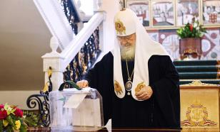 Патриарх Кирилл отдал свой голос за поправки к Конституции