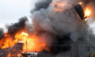 """Страшный сон: водитель """"Тойоты"""" протаранил газопровод и сгорел заживо"""