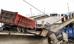 СК проводит проверку по факту обрушения моста через Амур