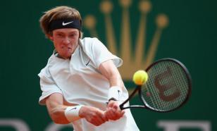 Рублёв вышел в полуфинал турнира в Санкт-Петербурге