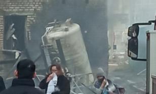 Опубликовано видео взрыва в челябинской больнице