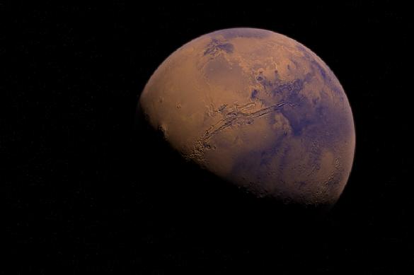 Причиной появления метана на Марсе может оказаться вечная мерзлота