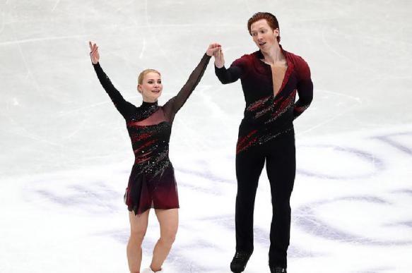 Тарасова и Морозов победили в короткой программе на чемпионате России