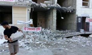 Дольщики незаконно построенных жилых комплексов в Сочи просят не сносить их дома