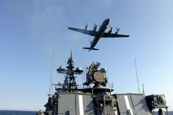 Корабли ВМФ России провели учения в Тихом океане