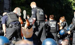 Протесты в Берлине: пострадали 45 полицейских