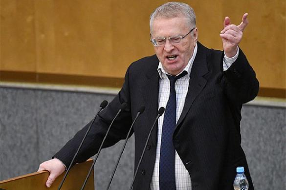 Жириновский указывает на необходимость не признавать выборы президента Украины