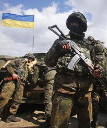 На Украине был создан новый боевой робот ''Ласка''