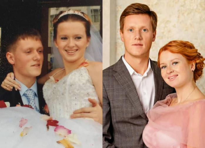 Актриса Екатерина Копанова с мужем отпраздновали шёлковую свадьбу