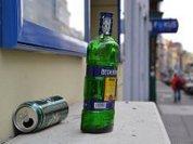 Публичное пьянство спрячут в кулек