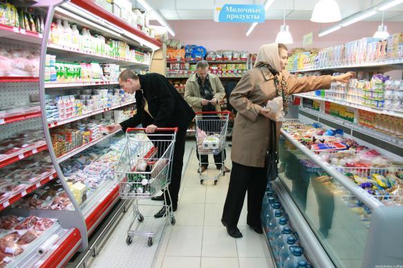 Цены на продукты в России оказались ниже, чем на Украине