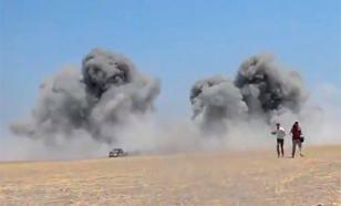 """Горит даже песок: Россия провела операцию возмездия за """"Ми-8"""""""