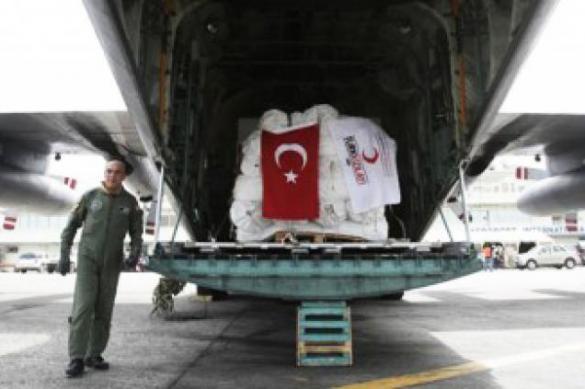 США получили от Турции вторую партию гуманитарной помощи