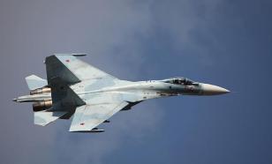 """Пилоты Су-27 ушли от """"противника"""" над Балтийским морем"""