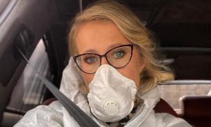 """""""Настало моё время"""": Собчак высказалась о пандемии коронавируса"""
