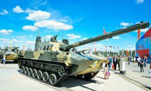 """В Чёрном море испытали лёгкий плавающий танк """"Спрут-СДМ1"""""""