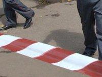 Милиционер пострадал при взрыве в центре Москвы.