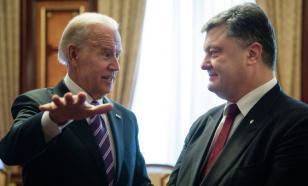 Опубликована запись разговора Порошенко и Байдена о миллиардной взятке