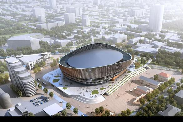 Ледовую арену в Екатеринбурге начнут строить в сентябре