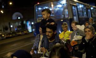 Литовские полицейские задержали беженцев из Ирака и отправили их в Польшу