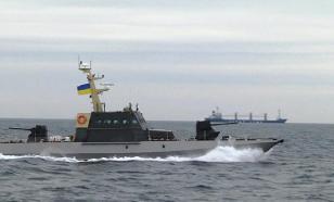 """Украина о """"мощном"""" корабле в Азовском море"""