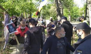 Украинские националисты прошлись маршем по Одессе
