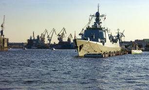 ВМФ Китая отрабатывает новые способы пополнения припасов в море