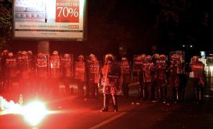 Восемь человек получили ранения в ходе демонстрации оппозиции в Подгорице