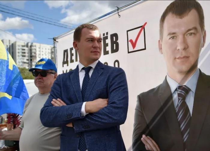 Хабаровск успокоился, приняв Дегтярёва: и.о. губернатора края победил на выборах