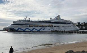 Круизный лайнер Aida Aura поставили на карантин из-за коронавируса