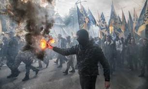 Марш славы УПА снова прошел по Украине