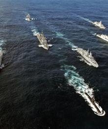 ВМФ России взял под наблюдение флот НАТО в Балтии
