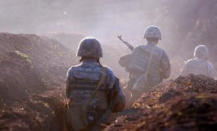 Интенсивность боёв в Карабахе снизилась