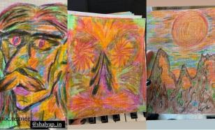 Вдова показала, что Александр Шаляпин нарисовал перед смертью