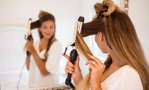 Горячая укладка волос