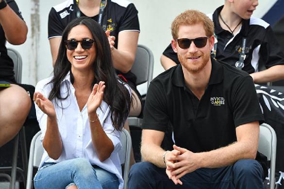 Принц Гарри и Меган Маркл посетили официальное мероприятие в Лондоне