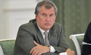 """Сечин ответил на санкции ростом дивидендов инвесторам """"Роснефти"""""""