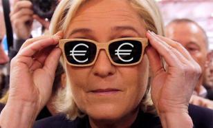"""Марин Ле Пен не может получить """"предвыборный"""" кредит в банках Франции"""