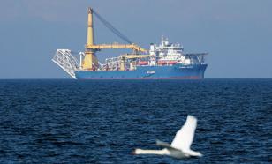 """В ФРГ прибыло судно для завершения строительства """"Северного потока-2"""""""