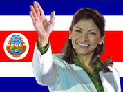 Жители Коста-Рики впервые избрали президентом женщину