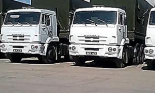 Колонна с гуманитарной помощью 20.08 отправилась в Донецк и Луганск